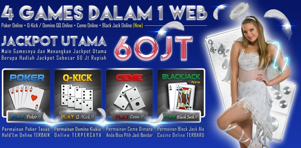 Inidewa Net Agen Poker Domino Qq Ceme Blackjack On