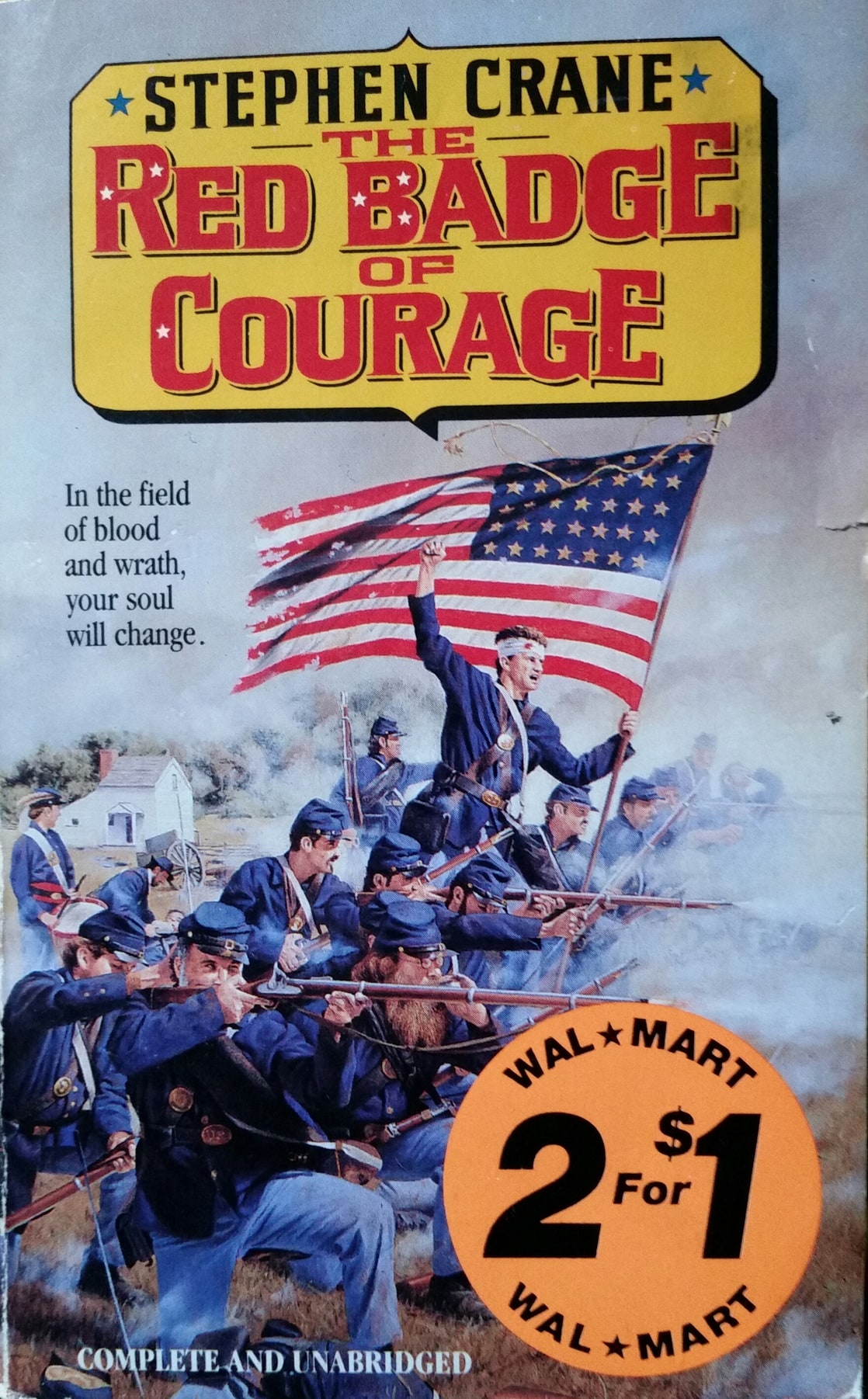 the red badge of courage essay paper Red badge of courage book report the red badge of courage is a fictional story of a young soldier named henry fleming, who finds himself by overcoming his inner fears in a series of events during the civil war.
