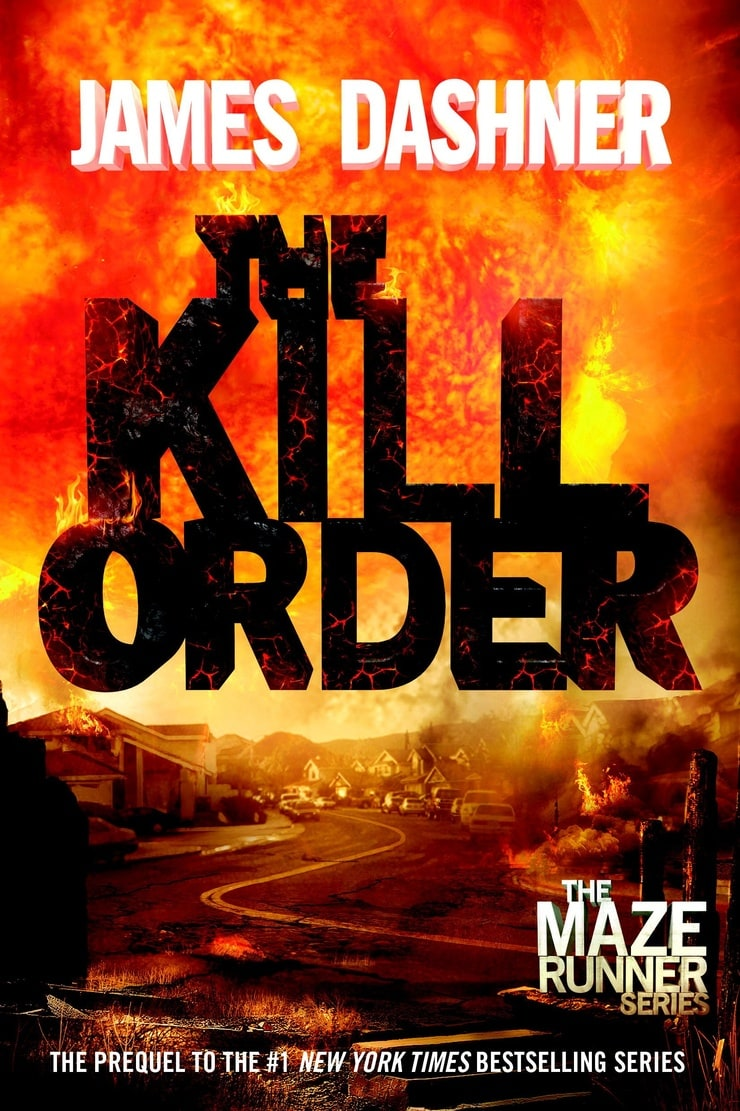 Book Cover Series Order : Picture of the kill order maze runner prequel