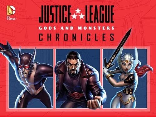 «Лига Справедливости Хроники Богов И Монстров Сериал» — 2003