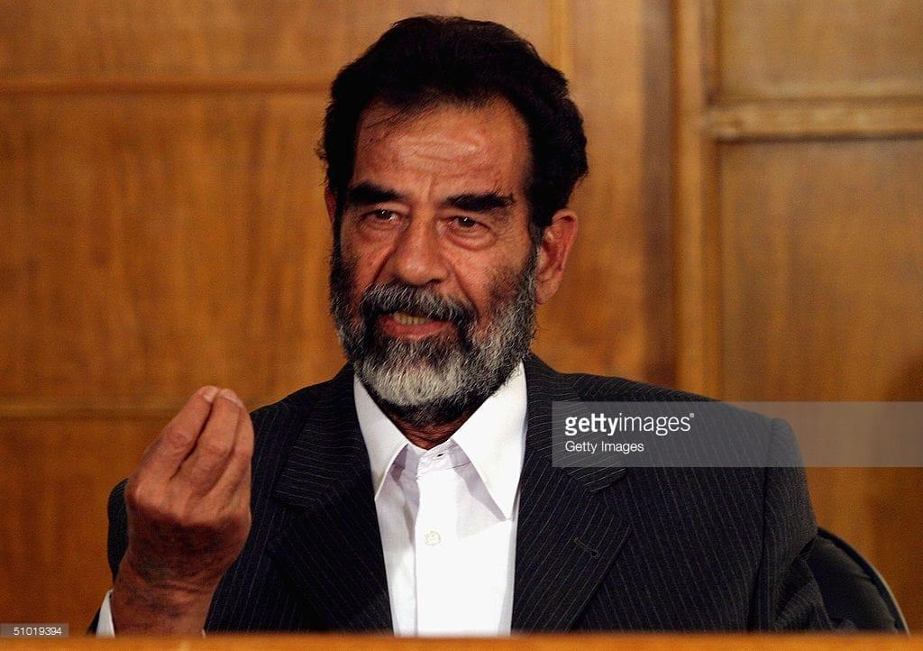 Picture of Saddam Hussein Saddam Hussein
