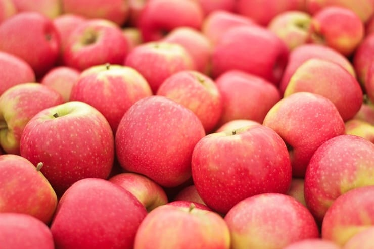 Picture of pink lady apple