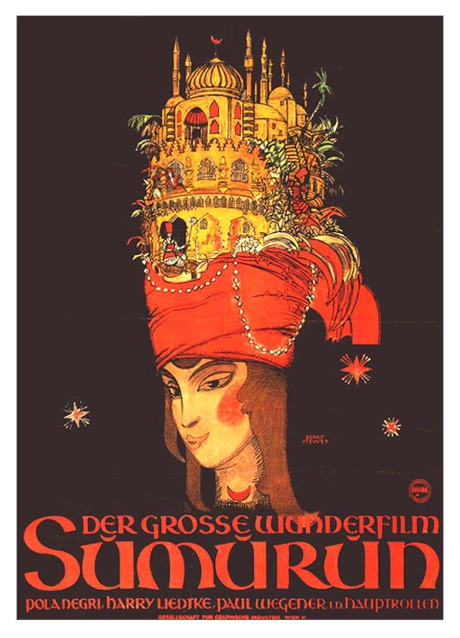 Pola Negri - Sumurun. Una Noche en Arabia [1920] [MEGA]